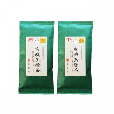 Fujihara Tea Growers - Tamaryokucha - New Package - 2 packs