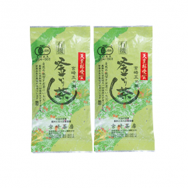 Miyazaki Sabo Kamairicha Blend of Yabukita & Native variety 2packs