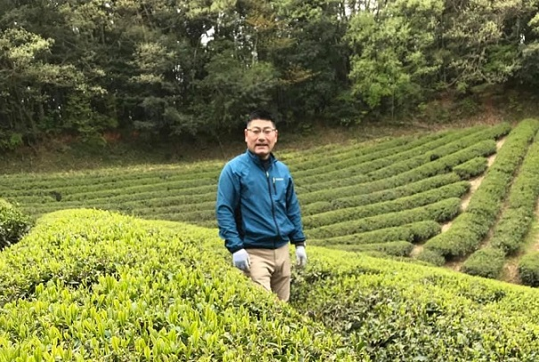 Fujihara san and organic tea farm