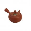 Teapot Morimasa Red Ceramic mesh 370 Front