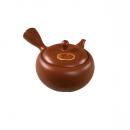 Teapot Takasuke Ceramic Mesh Red 290 Front 2