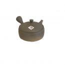 Teapot Tokoname Gyokko Hirakyusu Ceramic Mesh Soil 190 Front 2