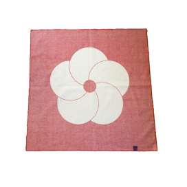 Furoshiki Plum Red Back