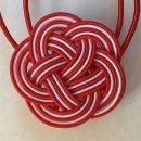 Mizushiki Plum Knot Red